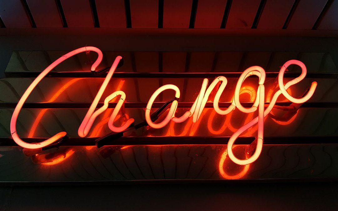 Accepting Change and Letting Go